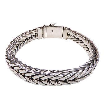 Silver Christian bracelet