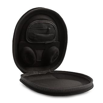 [REYTID] Bose Carry Case for QuietComfort 35 / QC35 Headphones w/ Built-In Cable Holder - BLACK - Replacement Travel EVA Bag Pouch Protective Portable Cover Wireless