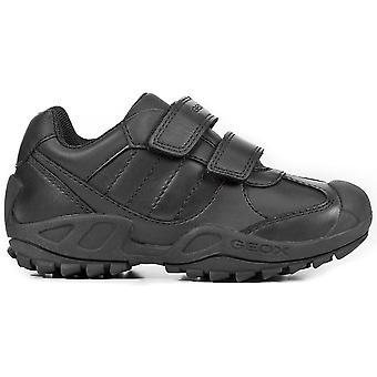 Geox Boys Savage J841VB School Shoes Black