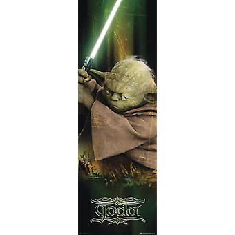 Star Wars Episode III the revenge of the Sith long railway poster-Yoda-T rposter