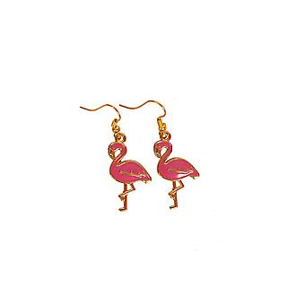 Jewelry and crowns  Earrings Flamingo