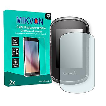 Garmin eTrex Touch 35 Screen Protector - Mikvon Clear (Retail Package with accessories)