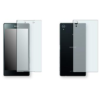 Sony Xperia Z5 premium screen protector - Golebo crystal-clear protector (3 x front / 3 rear)