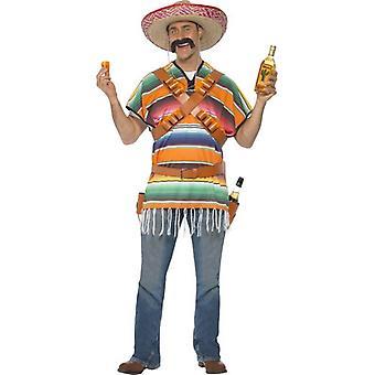 Tequila Shooter Mann Kostüm, Einheitsgröße