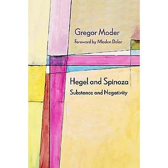 Hegel and Spinoza - Substance and Negativity by Gregor Moder - 9780810