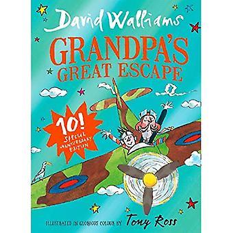 Grande fuga del nonno: regalo in edizione limitata di libro bestseller bambini David Walliams