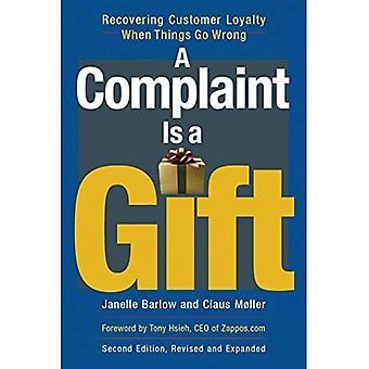 Ett klagomål är en gåva: återvinna kundernas lojalitet när saker går fel