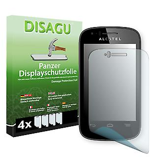 Alcatel one touch pop C1 display protector - Disagu tank protector protector
