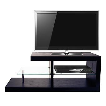 Halo - Chunky Tv Stand / Entertainment Unit / Coffee Table - Black