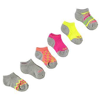 Skechers Girls 6 Pack Socks Kids
