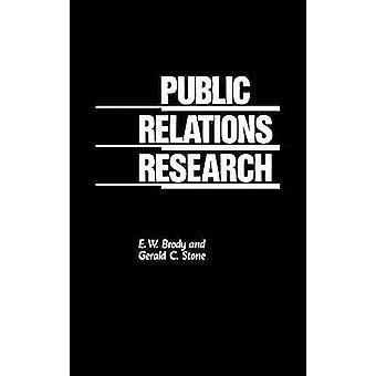 Recherche de Relations publiques par Brody & E. W.