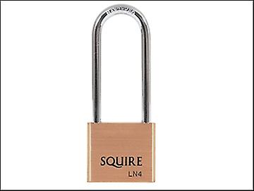 Henry Squire LN4LS Lion Brass Padlock 5 Pin 65mm Long Shackle