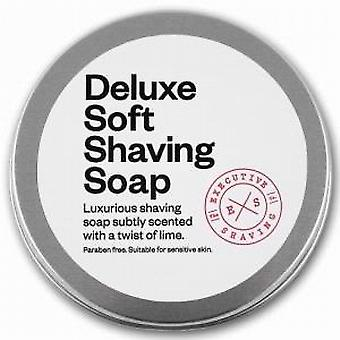 Executive Shaving Deluxe Soft Shaving Soap Lime Scent 100g