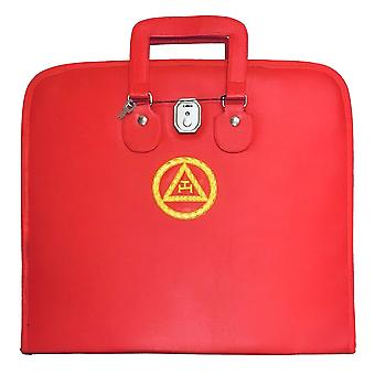 Masonic Royal Arch MM/WM and Provincial Full Dress Apron Cases Bullion Embroidery
