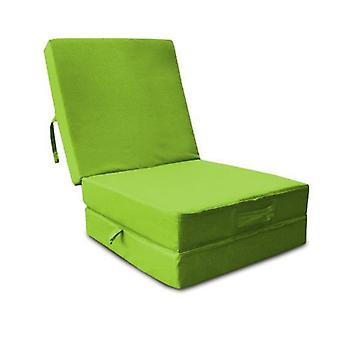 Water Resistant Fold Out Z Bed Cube - Lime