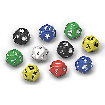 Fallout Wasteland Warfare Game Dice Set