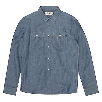 Levis Levi ' s solid blå skjorta