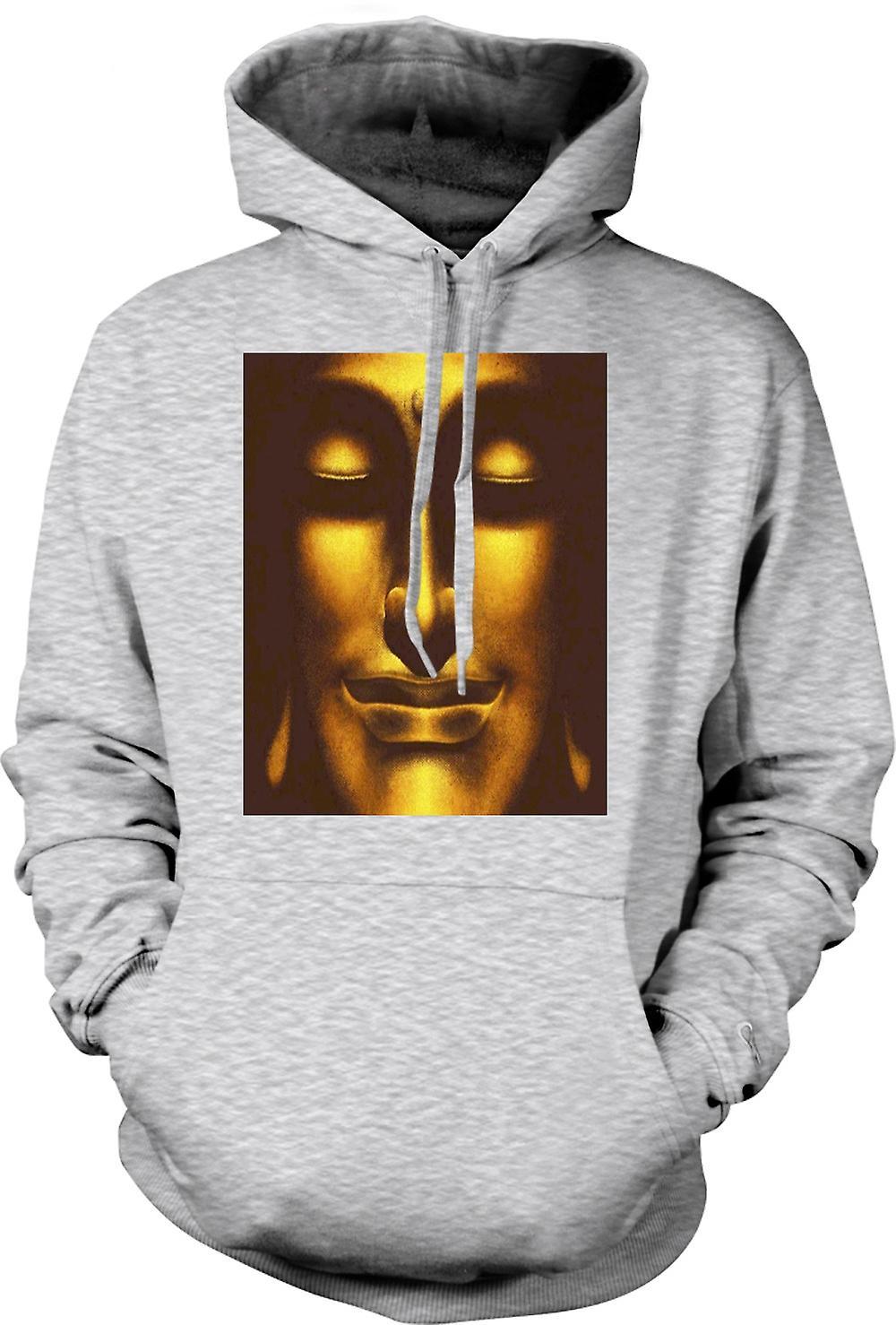 Mens Hoodie - Thai Golden Buddha