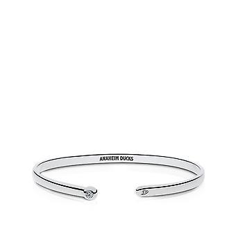 Anaheim Ducks Anaheim Ducks Engraved Diamond Cuff Bracelet