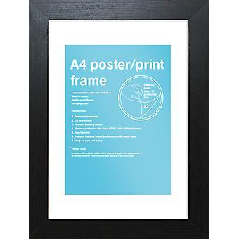 Eton Black Frame A4 Poster / Print Frame