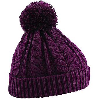Beechfield - Cable Knit Snowstar Beanie Hat