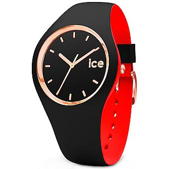 Ice loulou Watch for Unisex Analog Quartz with Silicone Bracelet IC007236
