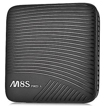 Mecool m8s pro l tv box - 3gb ram, 16gb rom, octa core, amlogic s912, android 7.1, ordinary remote control - black, us plug
