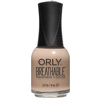 Orly BREATHABLE Treatment + Color - Down To Earth (20951) 18ml
