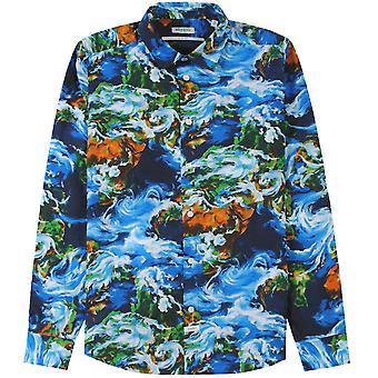 Kenzo World Patterned Shirt