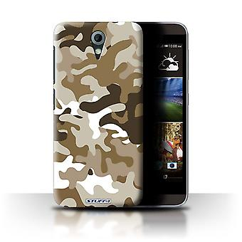 STUFF4 Case/Cover for HTC Desire 820 Mini/Brown 1/Camouflage Army Navy
