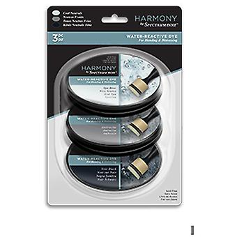 Spectrum Noir Ink Pad Harmony Water Reactive Cool Neutrals | Set of 3