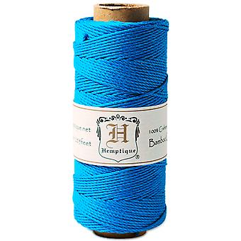 Bamboo Cord Spool 20# 205 Feet Pkg Neon Turquoise Bs Neont