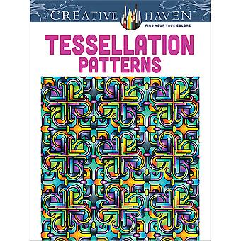 Dover Publications Creative Haven Tessellation Pattern Dov 49165