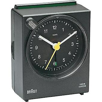 Quartz Alarm clock Braun 66033 Grey