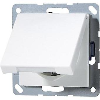 Jung Insert PG socket (+ lid) A 500, AS 500 Alpine white A1520KLWW
