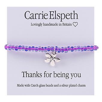 Carrie Elspeth tak for dig at være Daisy blomst børn armbånd