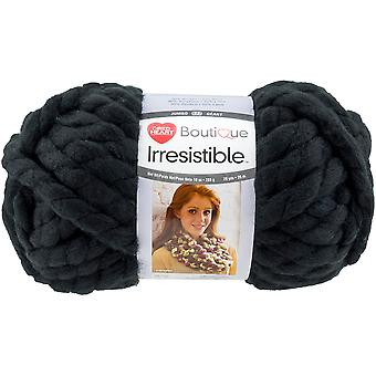 Red Heart Boutique Irresistible Yarn-Black E848-7012