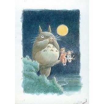Min nabo Totoro film plakat (11 x 17)