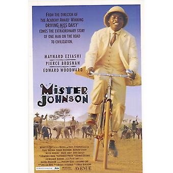 Mister Johnson Movie Poster (11 x 17)