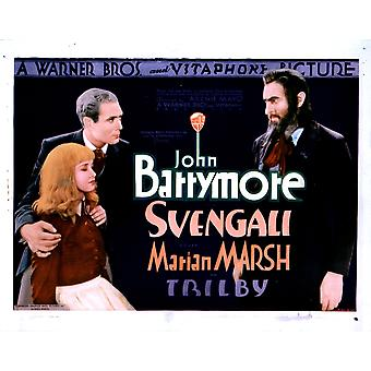 Svengali From Left Marian Marsh Bramwell Fletcher John Barrymore 1931 Movie Poster Masterprint
