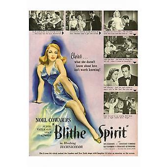 Blithe Spirit Movie Poster drucken (27 x 40)