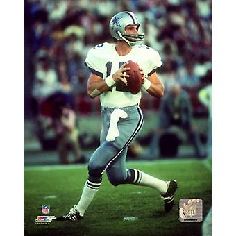 Roger Staubach 1979 Action Photo Print