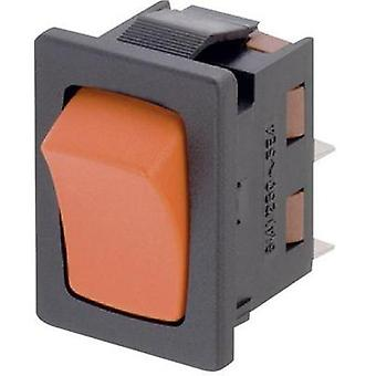 Toggle switch 250 Vac 6 A 1 x Off/(On) Marquardt 1941.1203 IP50 momentary 1 pc(s)