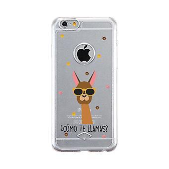 Apple iPhone 6 6S Transparent Scratch Resistant Phone Cover (Como Te Llamas)