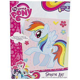 Uren plezier | MY LITTLE PONY | Pailletten kunst