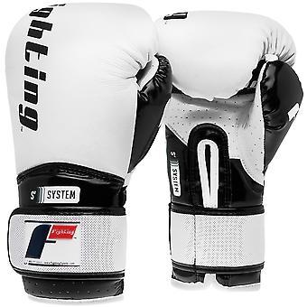 Kampene sport S2 Gel boksning Power træning handsker - hvid/sort