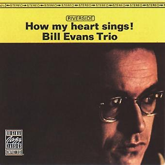 Bill Evans Trio - How My Heart Sings! [CD] USA import