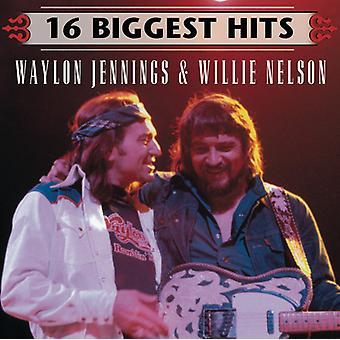 Jennings/Nelson - 16 Biggest Hits [CD] USA import