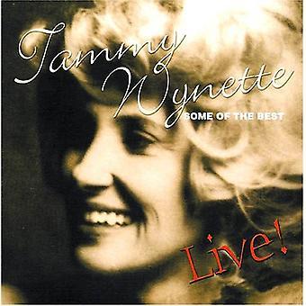 Tammy Wynette - nogle af de bedste Live! [CD] USA import