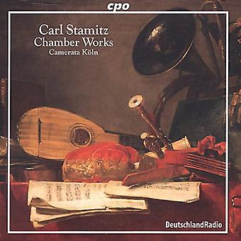 C. Stamitz - Stamitz: Chamber Works [CD] USA import